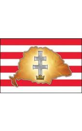 Árpádsávos nagymagyarország zászló 40x60cm