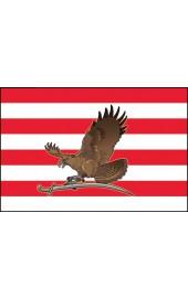 Árpádsávos zászló turullal 40x60cm