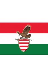 Trikolor turullal zászló 40x60cm