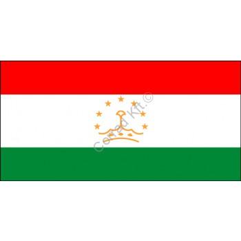 Tádzsikisztán nemzeti zászló 40x60cm